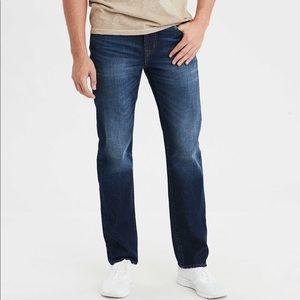 American Eagle Straight Dark Wash Jeans